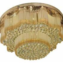 圓形溫馨led主臥室水晶吸頂燈具 餐廳房間現代簡約燈飾