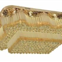 長方形led吸頂燈水晶燈臥室燈現代簡約吊燈大氣燈具燈飾