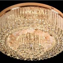 LED吸頂燈具客廳燈圓形水晶燈飾主臥室餐廳房間大氣溫馨現代簡約