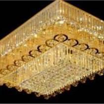 led吸頂燈現代簡約水晶長方形客廳燈臥室燈廚衛書房燈具