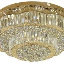 LED水晶吸頂燈客廳燈現代簡約客廳水晶燈臥室燈具餐廳燈飾
