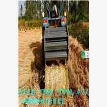 柴进YT70100增加揉丝器的稻草打捆机