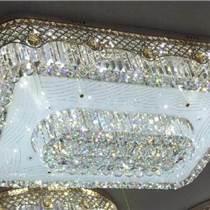 長方形led水晶燈吸頂燈客廳燈臥室燈 現代簡約大氣燈飾
