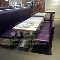 橫崗四人西餐廳桌子 餐廳板式餐桌 茶餐廳餐桌椅組合