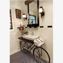 深圳宝安石岩装修公司谈家庭装修浴室柜台面什么材料好