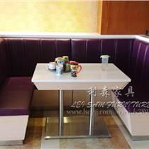 茶餐廳餐桌椅 韓式自助餐廳桌椅定制 大理石餐桌定制廠家直銷