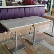 寶安奶茶甜品店桌椅組合 酒店批發餐桌椅可來圖定制