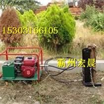 電動打樁機防汛防洪木樁機供應供應商