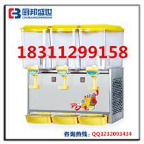 三缸冷飲果汁機器|果汁飲料機器價格|水吧配套果汁機器|果汁飲料機器廠家