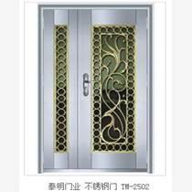 青岛不锈钢艺术门不锈钢门优选泰明门业