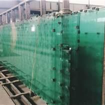 郑州8mm绿色镀膜钢化玻璃