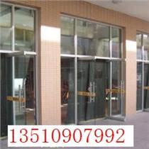 福民新村地彈簧玻璃門維修 皇崗玻璃門夾脫落維修
