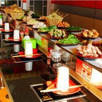 火锅店餐饮传送带 回转火锅设备 自动传送设备