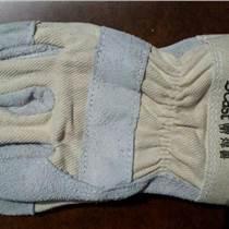 焊獸牌手套11200 海員手套 短皮手套 半皮手套 皮革手套