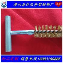 廠家直銷異型除毛刺銅絲刷/管道銅絲刷/扭絲刷