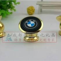 定制金屬車標通用車載手機支架手機導航360度旋轉磁性支架