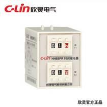 欣靈HHS5PR 數字式循環延時時間繼電器ST3PR升級版AC220V/AC110V