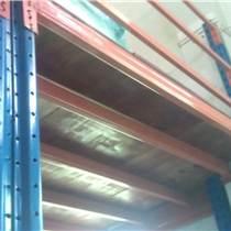 生產訂做自貢閣樓倉儲貨架