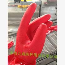 廠家直銷批發浸膠手套防水保暖廚房家務用生活防護手套