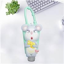 廠家供應硅膠香水套 環保彩色卡通香水套 防滑防摔防震指甲油瓶套定制