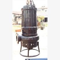 高性能潛水鋼渣泵、耐磨潛水鐵砂泵、銅礦抽砂泵