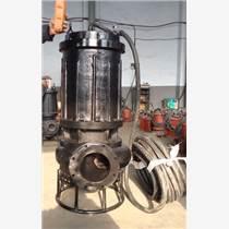 礦用潛水排砂泵(高耐磨、帶攪拌裝置)