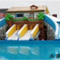 兒童水上樂園刷卡機氣模水上樂園刷卡機