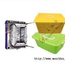 黃巖專做注射模具工廠 450升注射工業垃圾桶模具廠