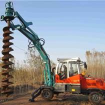 挖掘機式打孔機鉆眼機輪式挖掘機