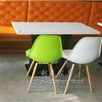 益田餐廳餐桌 茶餐廳餐桌椅 西餐廳餐桌椅 大理石餐桌組合定制