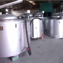 供應鋁合金銅合金廢鋁坩堝式熔煉保溫爐