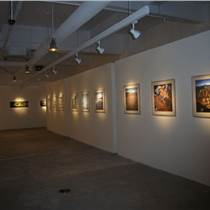 藝術板墻,攝影藝術板墻無縫展板,文化館展覽板