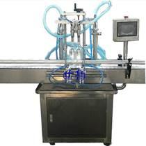世鲁全自动橄榄油灌装机-双头活塞式小瓶调和油灌装机