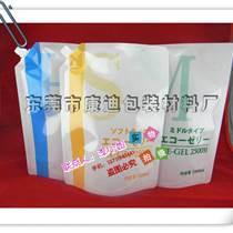 袋裝水包裝袋 透明無菌4/5/8L液體吸嘴自立袋廠家銷
