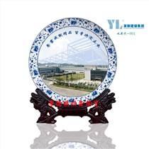 景德鎮定做畢業紀念禮品廠家,陶瓷紀念盤定做價格