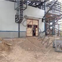 化肥廠鋼木大門 化肥廠鋼木大門價格 防嚴寒鋼木大門廠家