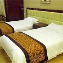 龙华厂家供应酒店宾馆的房间和前台专用软包背景墙