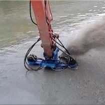 河道專業疏浚機器 挖機泥漿泵