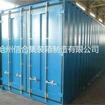 廠家直銷集裝箱 標準貨運集裝箱 20英尺集裝箱