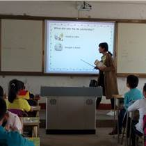 桂林电子白板高品质升皇教学装备 进驻校园建设智慧课堂