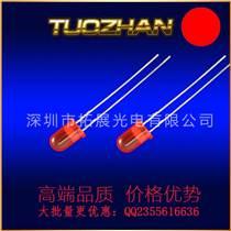 134紅發紅直插LED燈珠方形發光二極管