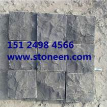 蒙古黑石材马蹄石 ?#21248;?#38754; 斧凿石