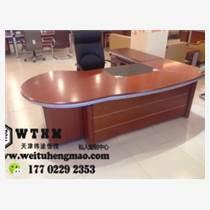 天津玻璃辦公桌 塑鋼辦公桌 實木辦公桌