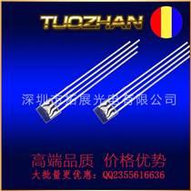 257紅藍雙色方型燈直插發光二極管