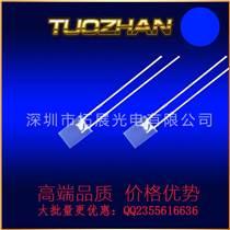 134白發藍長腳發光二極管LED燈珠