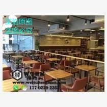 天津西餐廳卡座沙發 美式卡座 情侶卡座