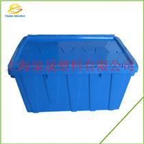 斜插式物流周轉箱帶蓋上海渠晟供醫藥行業6425