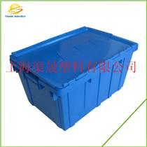 上海醫藥行業斜插式物流周轉箱帶蓋6428