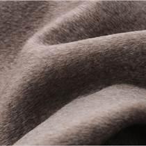 神彩慧數碼印花面料雙面純色牦牛絨