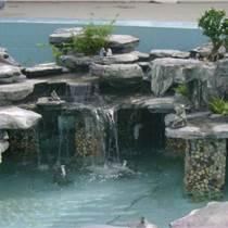 上海鹤石乱石假山制作图片